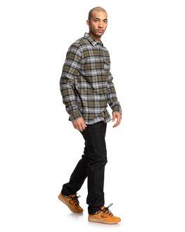 FATIGUE GREEN MENS CLOTHING DC SHOES SHIRTS - EDYWT03207-CRB0