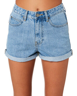 LIGHT RETRO WOMENS CLOTHING DR DENIM SHORTS - 1610103-G81
