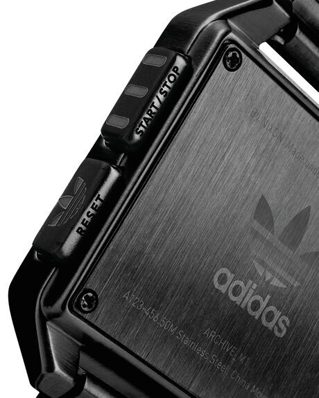 ALL BLACK MENS ACCESSORIES ADIDAS WATCHES - Z01-001-00ABLK
