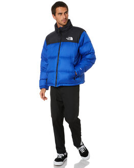 TNF BLUE MENS CLOTHING THE NORTH FACE JACKETS - NF0A3C8DCZ6