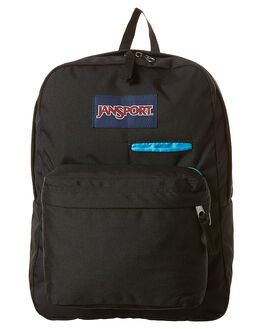 BLACK MENS ACCESSORIES JANSPORT BAGS + BACKPACKS - JS00T50F-008