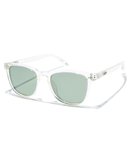 POLISHED CLEAR MENS ACCESSORIES LOCAL SUPPLY SUNGLASSES - CITYCRP2