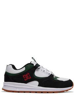 BLACK/RED/GREEN KIDS BOYS DC SHOES SNEAKERS - ADBS700078-XKRG