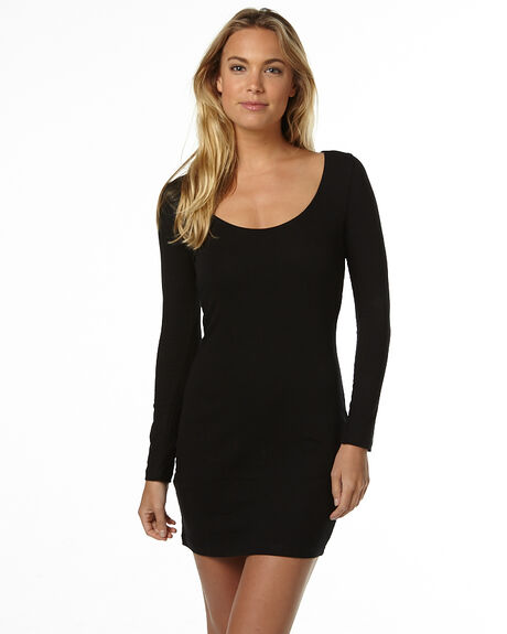 BLACK WOMENS CLOTHING BETTY BASICS DRESSES - BB211BLK
