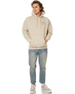 NATURAL MENS CLOTHING ALLAH LAS JUMPERS - LASCALHOOD01NAT