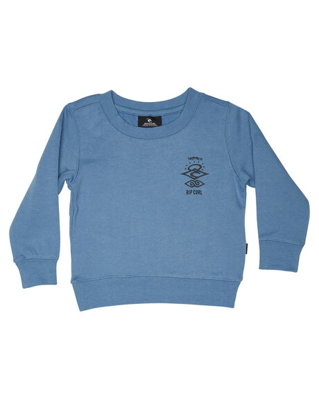 DENIM BLUE KIDS BOYS RIP CURL JUMPERS + JACKETS - OFEAX34983