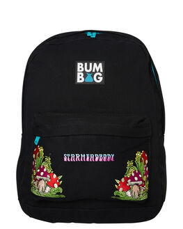 BLACK MENS ACCESSORIES THE BUMBAG CO BAGS + BACKPACKS - C0026BLK