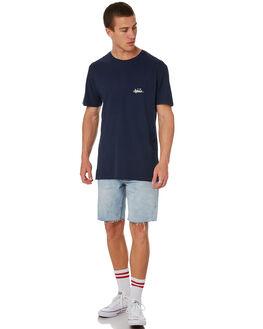 MIDNIGHT MENS CLOTHING ALOHA ZEN TEES - AZ947MIDNT