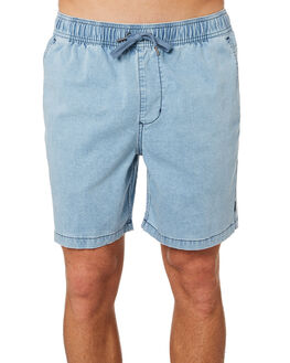 LIGHT BLUE MENS CLOTHING RIP CURL SHORTS - CWAMN11080