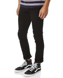 BLACK MENS CLOTHING RIDERS BY LEE JEANS - R-500151-602BLK