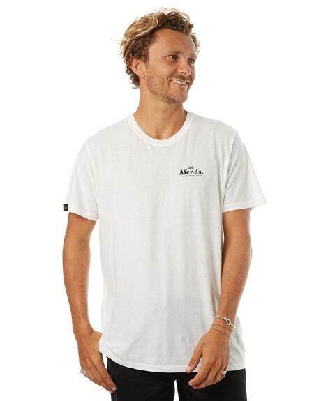 NATURAL MENS CLOTHING AFENDS TEES - 01-10-029NAT