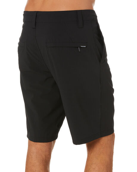 BLACK MENS CLOTHING VOLCOM SHORTS - A3212101BLK