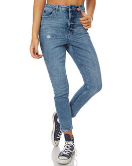 WASHED OUT WOMENS CLOTHING CHEAP MONDAY JEANS - 0444565WAS