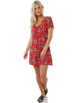 MULTI WOMENS CLOTHING MINKPINK DRESSES - MP1710450MULTI