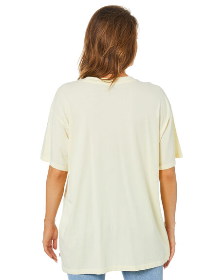 TRANSPARENT YELLOW WOMENS CLOTHING LEVI'S TEES - 17467-0006TYEL