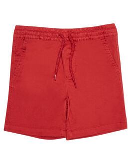 BAKED APPLE KIDS TODDLER BOYS MOSSIMO SHORTS - 3M8195BKDAP
