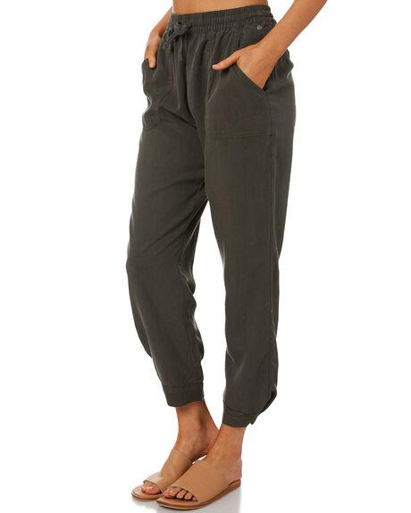 DARK OLIVE WOMENS CLOTHING RUSTY PANTS - PAL1194DAO