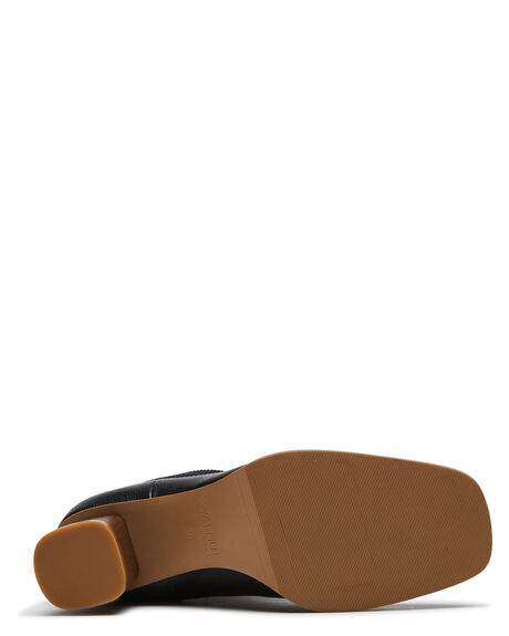BLACK WOMENS FOOTWEAR WALNUT BOOTS - IMOGENBLK