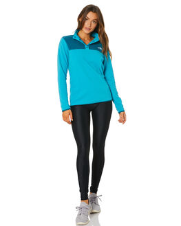 BARRIER REEF BLUE WOMENS CLOTHING THE NORTH FACE JUMPERS - NF0A48KMEL4