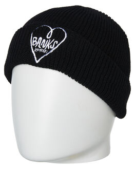 BLACK MENS ACCESSORIES BANKS HEADWEAR - BE0041BLK