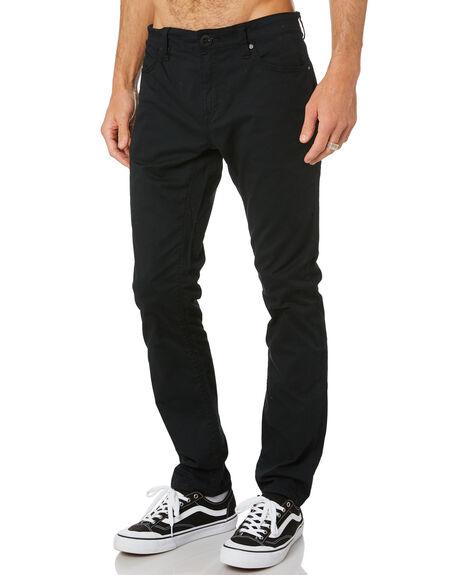 BLACK MENS CLOTHING VOLCOM PANTS - A1102001BLK
