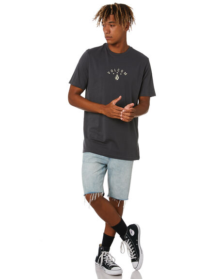 ASPHALT BLACK MENS CLOTHING VOLCOM TEES - A5012023ASB