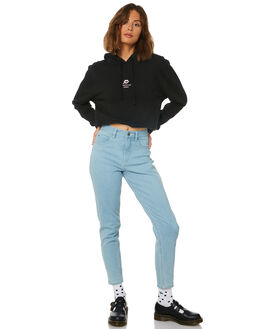 BLACK WOMENS CLOTHING AFENDS JUMPERS - W191506BLK