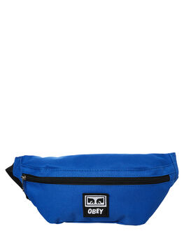 ROYAL BLUE MENS ACCESSORIES OBEY BAGS + BACKPACKS - 100010100RYL