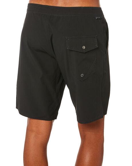 BLACK MENS CLOTHING STAY SHORTS - SBO-19405BLK