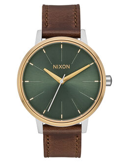 SILVER GOLD AGAVE MENS ACCESSORIES NIXON WATCHES - A1082877