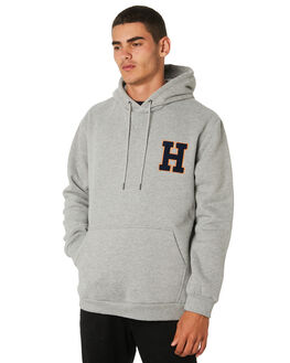 GREY MARLE MENS CLOTHING HUFFER JUMPERS - MHD91S3310GRYML