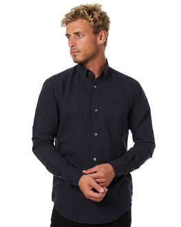 NAVY MENS CLOTHING ASSEMBLY SHIRTS - AM-W217-5NVY