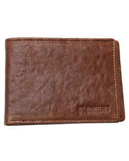 CHOLOLATE MENS ACCESSORIES ELEMENT WALLETS - 174571BCHOC