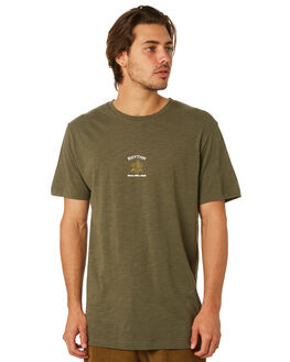 OLIVE MENS CLOTHING RHYTHM TEES - JUL18M-PT05-OLI