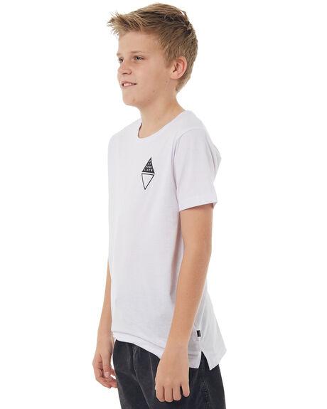 WHITE KIDS BOYS ST GOLIATH TEES - 2402032WHT