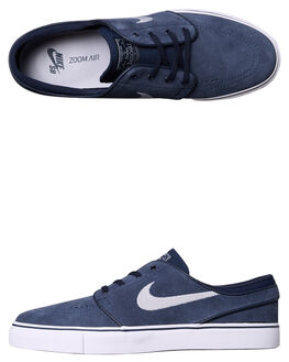 OBSIDIAN WOLF GREY MENS FOOTWEAR NIKE SKATE SHOES - 633014-400