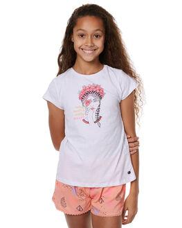 WHITE KIDS GIRLS EVES SISTER TEES - 9900028WHT