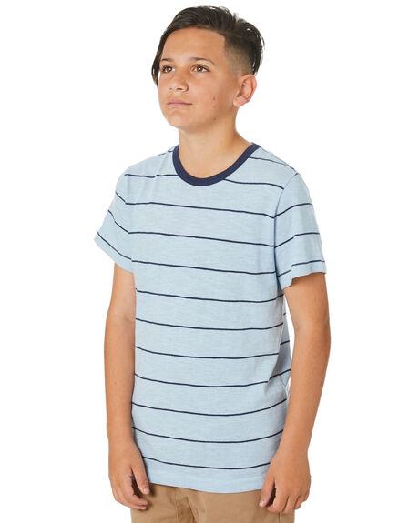 GREY NAVY KIDS BOYS ACADEMY BRAND TOPS - B20S418GRNV