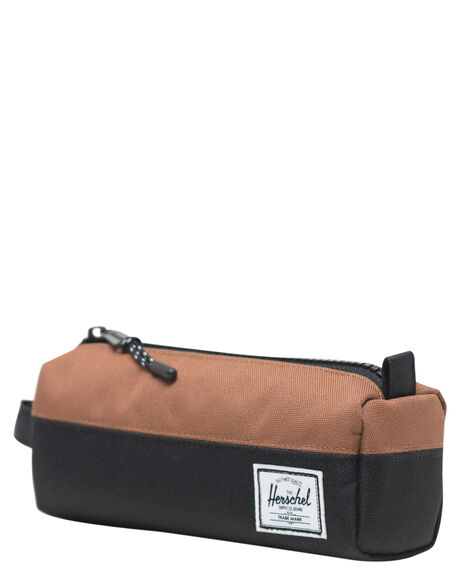 BLACK SADLLE BROWN KIDS BOYS HERSCHEL SUPPLY CO OTHER - 10071-02696-OSBSB