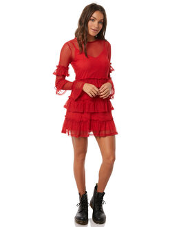 RED WOMENS CLOTHING THE FIFTH LABEL DRESSES - 40180320RED