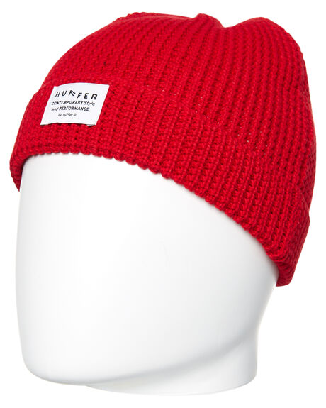 RED MENS ACCESSORIES HUFFER HEADWEAR - MA81S004RED