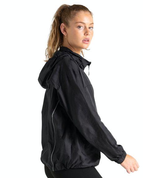 BLACK WOMENS CLOTHING DOYOUEVEN ACTIVEWEAR - M.11.C.XS