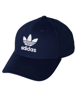 COLLEGIATE NVY WHITE MENS ACCESSORIES ADIDAS HEADWEAR - DV0174CNW