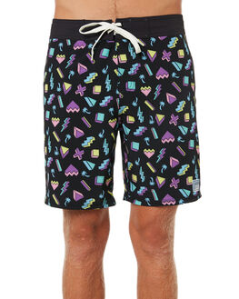 MULTI MENS CLOTHING CATCH SURF BOARDSHORTS - A8TRK005MUL