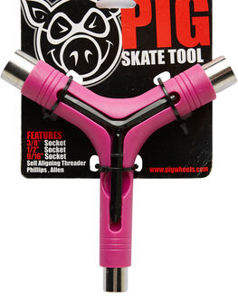 PINK BOARDSPORTS SKATE PIG ACCESSORIES - 13243003-PINK