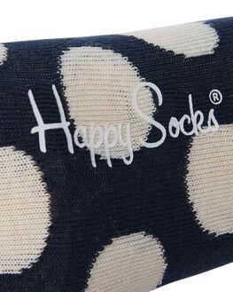 NAVY WHITE MENS CLOTHING HAPPY SOCKS SOCKS + UNDERWEAR - BD01-608NVYWH