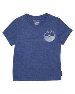 BLUE MARLE KIDS TODDLER BOYS BILLABONG TEES - 7575019BLU