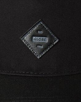 BLACK BLACK MENS ACCESSORIES GLOBE HEADWEAR - GB71729003BLKBLK