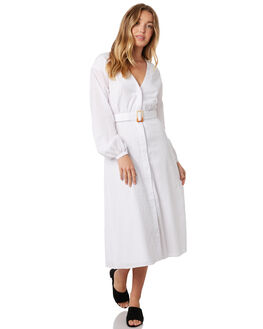 WHITE WOMENS CLOTHING STEVIE MAY DRESSES - SL190520DWHT