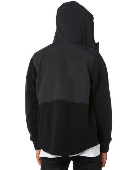 BLACK MENS CLOTHING HURLEY JACKETS - CI2660010